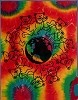 Grateful Dead - Dancing Bears Around the World Tie Dye Tapestry