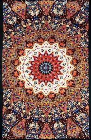 Indian Earth Star Tapestry