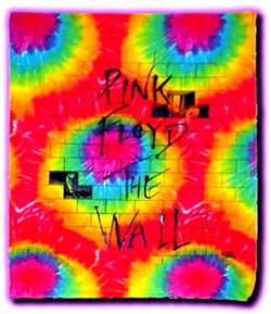 Pink Floyd - The Wall Tie Dye Tapestry Wall Hanging