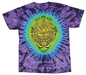 Grateful Dead - Dead Again Tie Dye T-Shirt