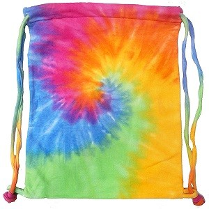 Eternity Spiral Tie Dye Sports Bag