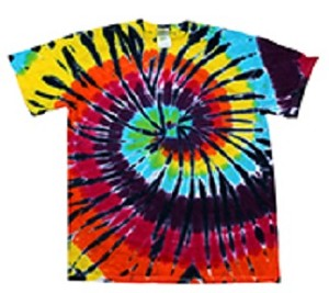 Youth Lava Lamp Tie Dye T-Shirt