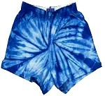 Royal Spider Tie Dye Soffe Cheer Shorts