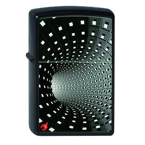 Black Hole 3D Tunnel Zippo Lighter