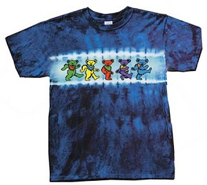 Grateful Dead - Kids Dancing Bears Tie Dye T-Shirt