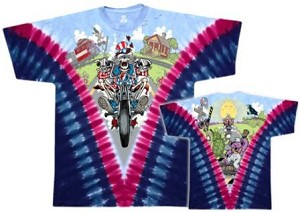 Grateful Dead - Moto Sam Tie Dye T-Shirt