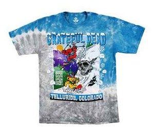 Grateful Dead - Telluride Bear Mountain Tie Dye T-Shirt