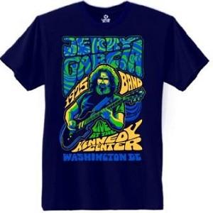 Jerry Garcia Poster T Shirt