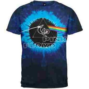 Pink Floyd - 40th Concentric Tie Dye T-Shirt