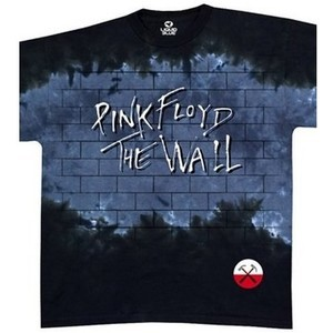 Pink Floyd - Brick In The Wall Tie Dye T-Shirt