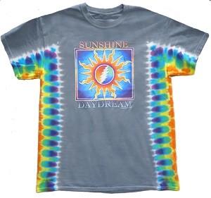Grateful Dead Tie Dye Sunshine Daydream T Shirt