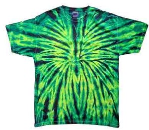 Wild Spider Tie Dye Youth T-Shirt