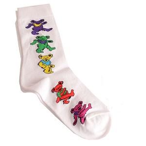 Grateful Dead Dancing Bear Womens Socks